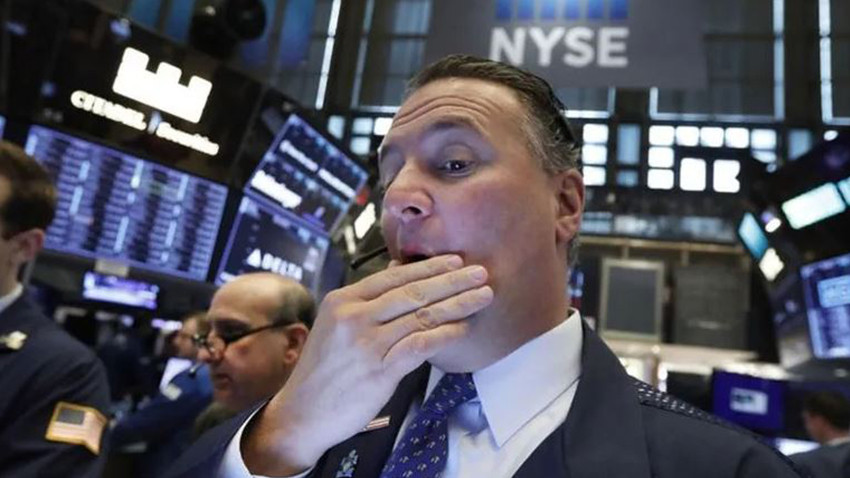 Piyasalar 1 günde 1 trilyon dolar eridi!
