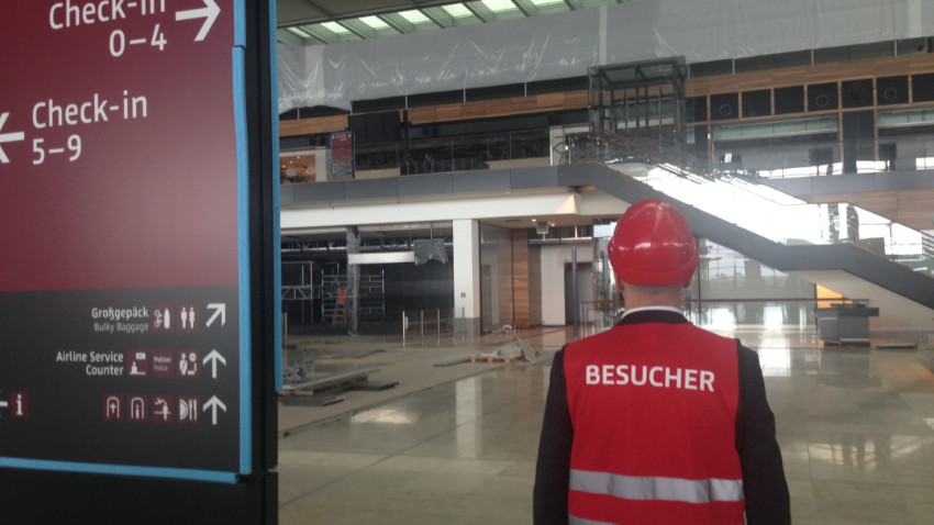 İşte Almanların bir türlü bitmeyen havalimanı!