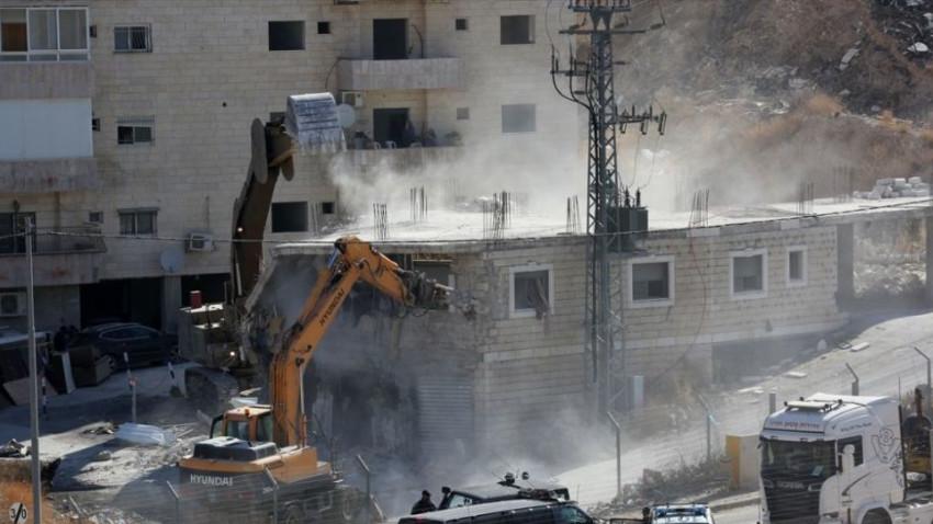 İsrail Doğu Kudüs'te yıkıma yeniden başladı