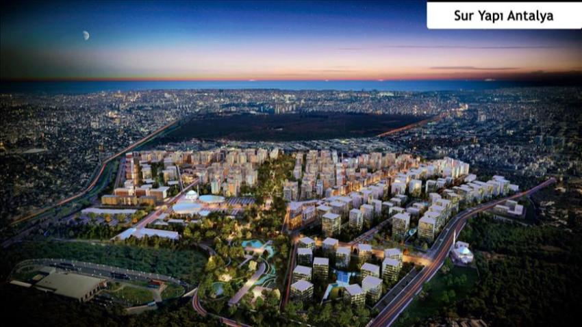 Sur Yapı Antalya'da ev aldıracak fırsat!