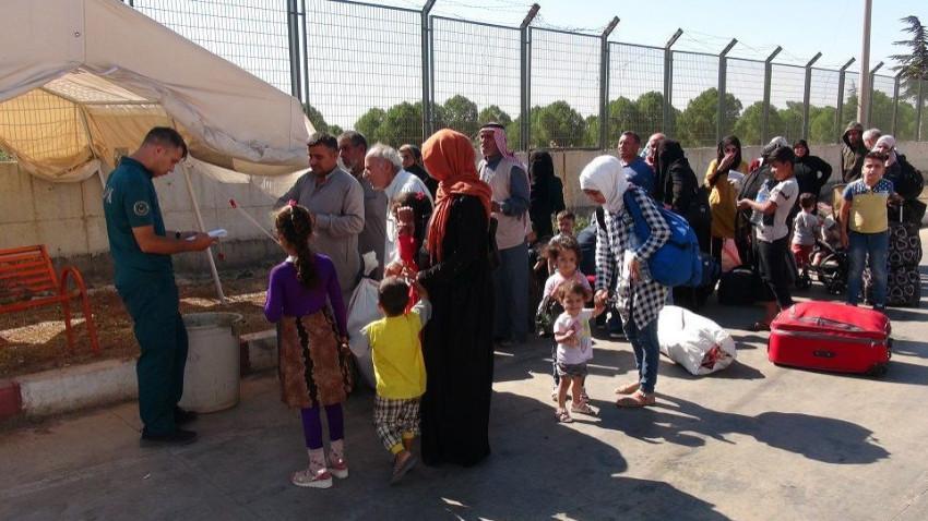 Bayramı ülkesinde geçiren Suriyeliler döndü
