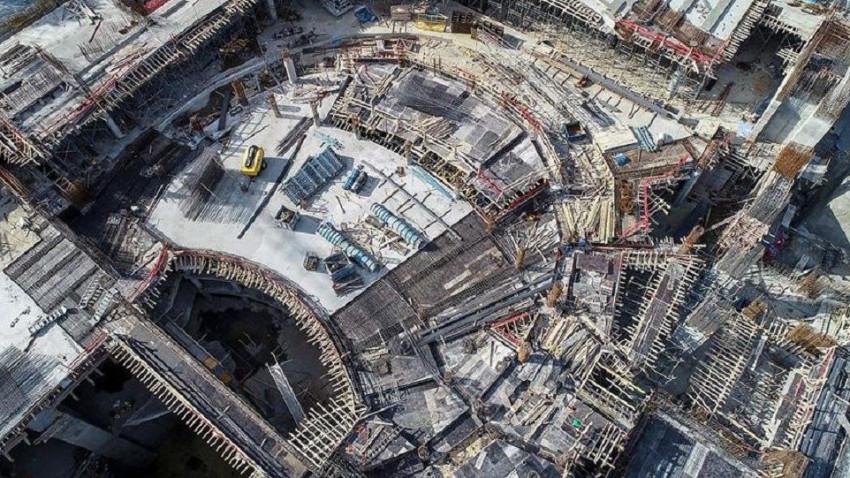 Yeni AKM binasının kaba inşaatı yarılandı! Dikkat çeken ayrıntılar