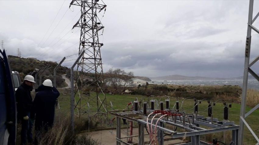 Marmara Adası ana hat elektriğine kavuştu