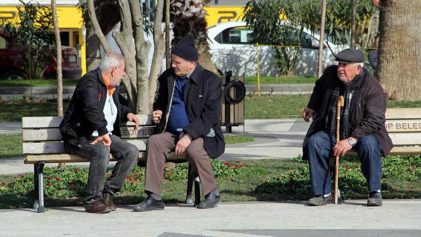 Türkiye'deki yaşlı nüfusu artmaya devam ediyor
