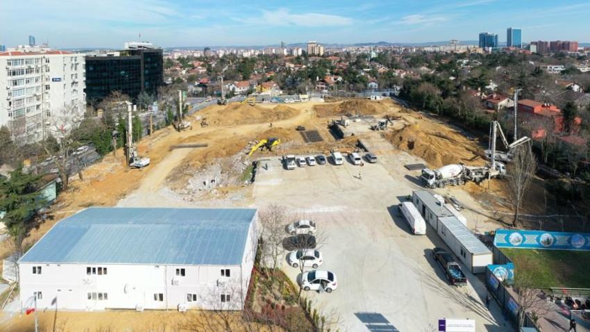 Levent Camii'nin inşaat çalışmaları başladı