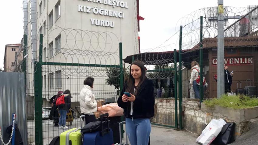 İstanbul'da üç öğrenci yurdu boşaltılıyor