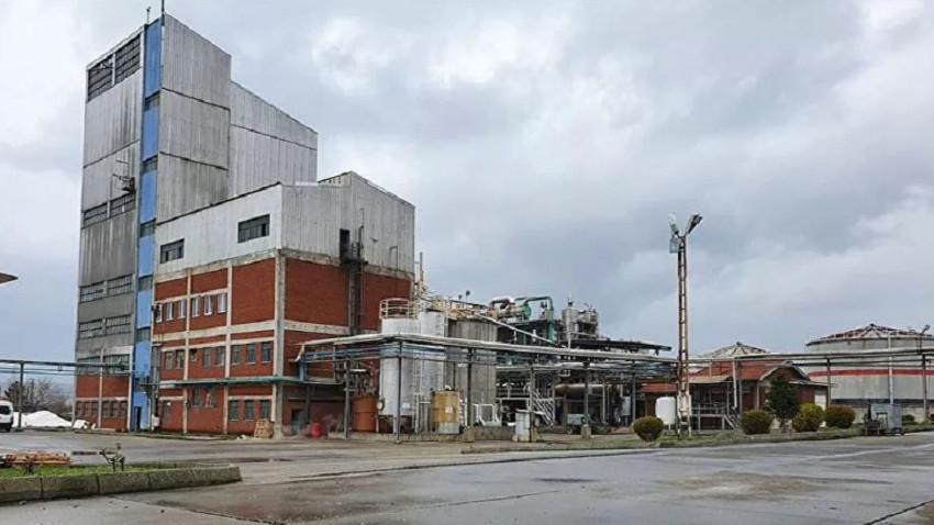 14 yıl atıl kalan alkol fabrikasında dev üretim