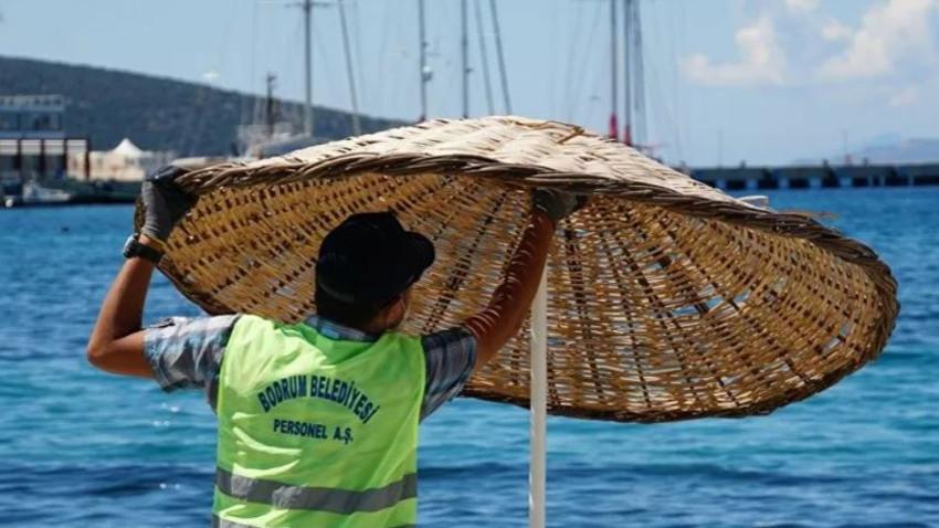 Deniz içinde locanın bedeli 3 bin TL'yi buldu