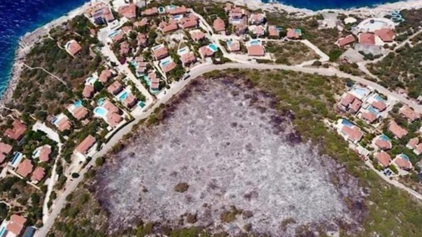 Antalya'da 'otellik' yanan arazi imara da açıldı
