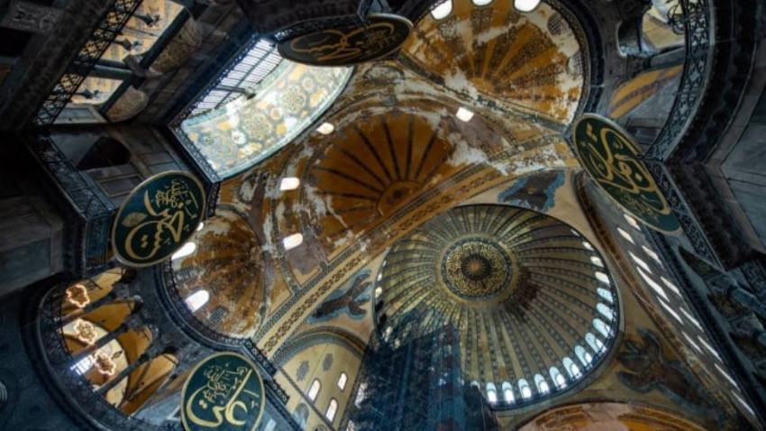 Ayasofya'da mozaikler nasıl kapatılacak?