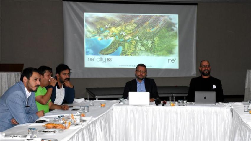 Nef'ten Kırşehir kıyılarında yeni yaşam alanı!