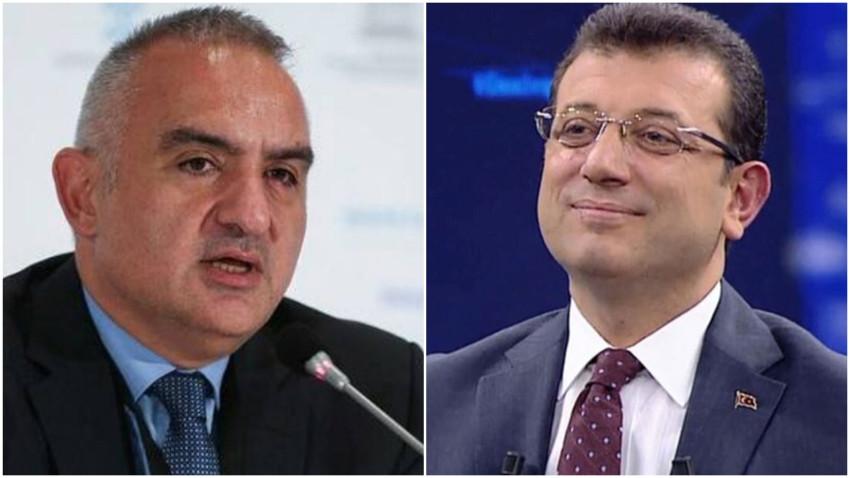 Kültür Bakanı Ersoy İmamoğlu'ndan rica etti: O binayı taşırsanız...