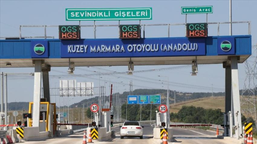 K.Marmara Otoyolu'nun bir bölümü daha açıldı