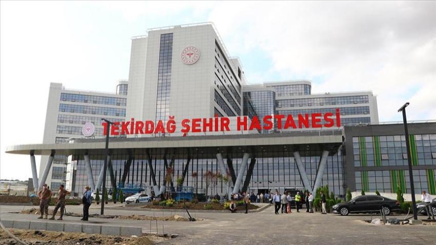 Tekirdağ Şehir Hastanesi'nde sona gelindi! Resmi açılış için gün sayıyor