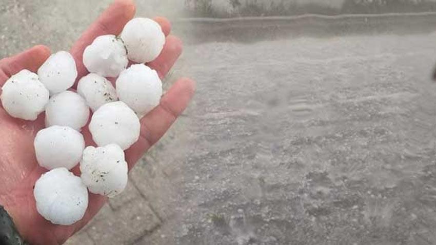 Uzmanlardan İstanbul için dolu yağışı uyarısı geldi