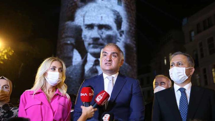 Bakan Ersoy Galata Kulesi restorasyonuyla ilgili çarpıcı rakamı açıkladı