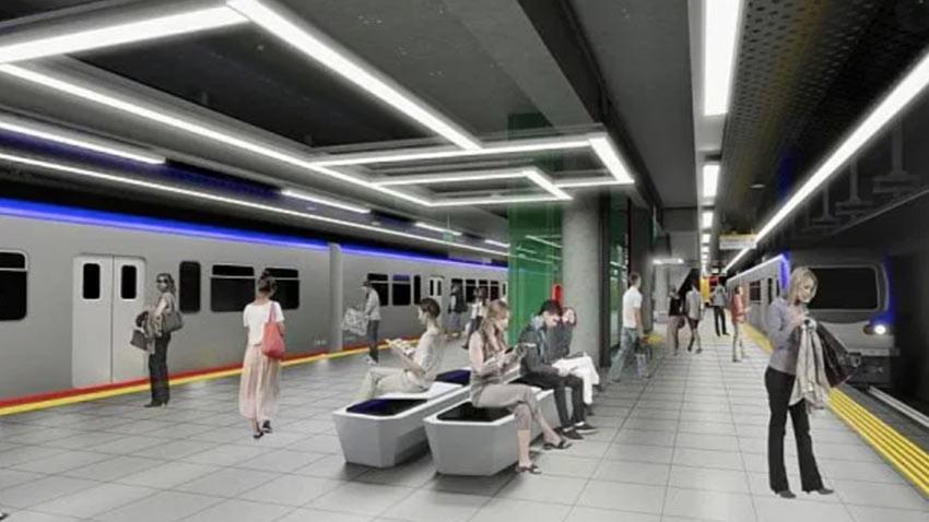 İstanbul Havalimanı-Gayrettepe metro hattında 120 km hız!