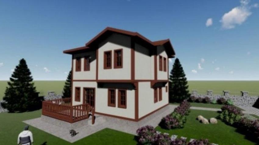 Ankara Köy Evleri Projesi ile köylerde yeni mimari
