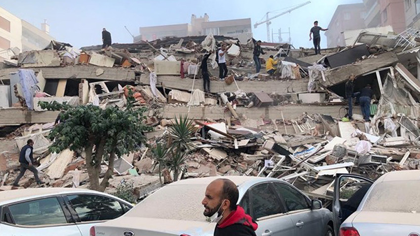Jeoloji Mühendisleri İzmir depreminde ağır hasar gören konut sayısını açıkladı