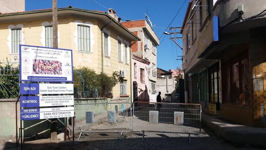 Tarihi Edremit evleri gün yüzüne çıkıyor! Restorasyon başladı
