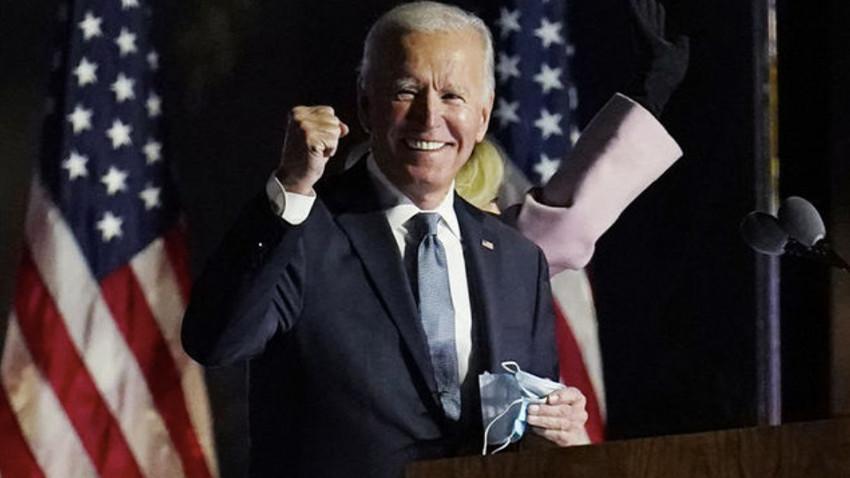 ABD'nin yeni başkanı Joe Biden seçildi
