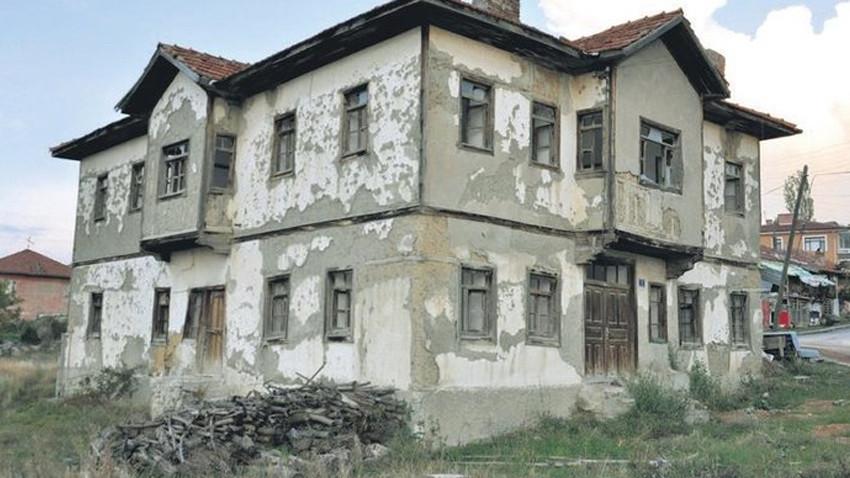 Son Ankara evi İbrahim Ağa Konağı yeniden yaşatılıyor