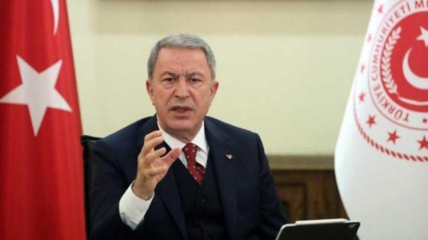 Hulusi Akar'dan Kremlin'e mesaj: Karabağ'da hem masada hem sahadayız