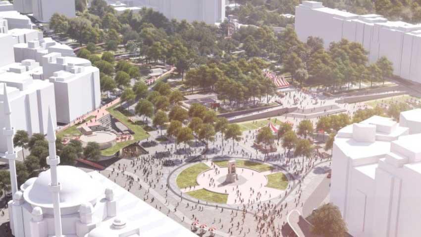Oylama tamamlandı! İstanbullular'ın seçtiği Taksim Meydanı projesi nasıl?