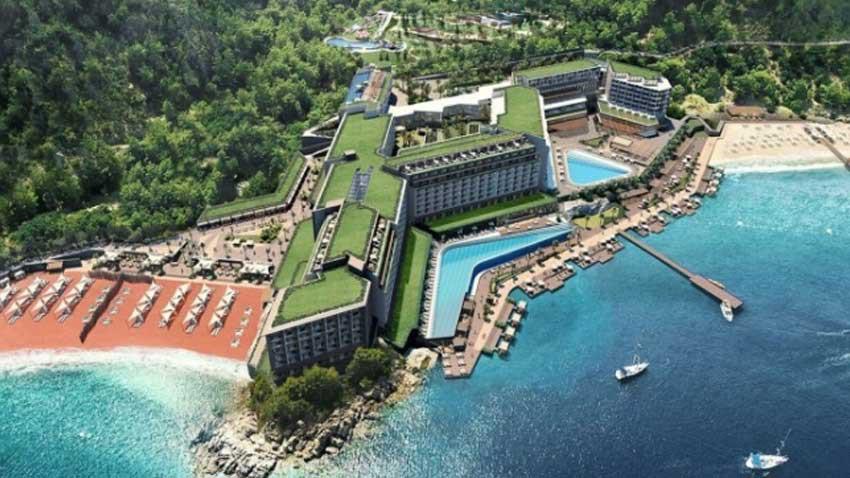 Sinpaş'tan yeni devremülk projesi! Kızılbük'te inşaat çalışmaları başladı...
