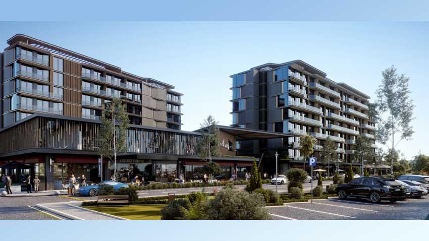 Next Bornova 10 bin TL kira garantisi ile satışta... Yüzde 85'i satıldı!