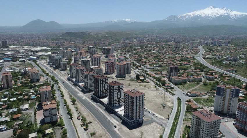 Kayseri'de konut piyasası gelişiyor! Son durum ne?