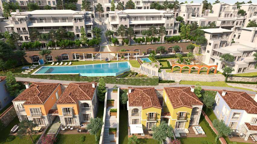 Menemen'de Villarima Kaleköy yazlık tadında villa hayatı sunuyor