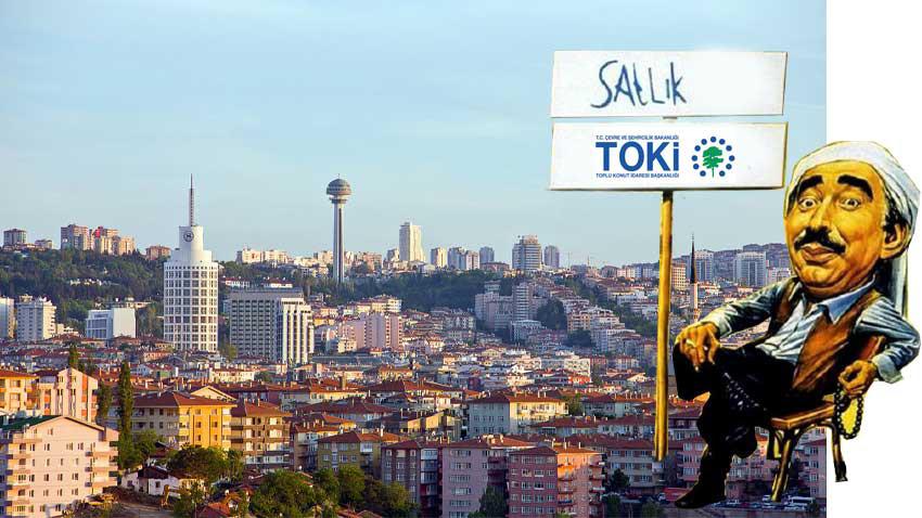 TOKİ Ankara'da 152 konutu açık satışa koydu! Çekiliş yok kura yok