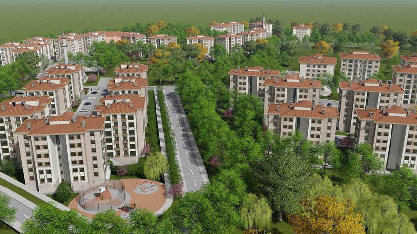 TOKİ Kırıkkale'de 560 TL taksitle ev satıyor! Kimler nasıl başvuracak?