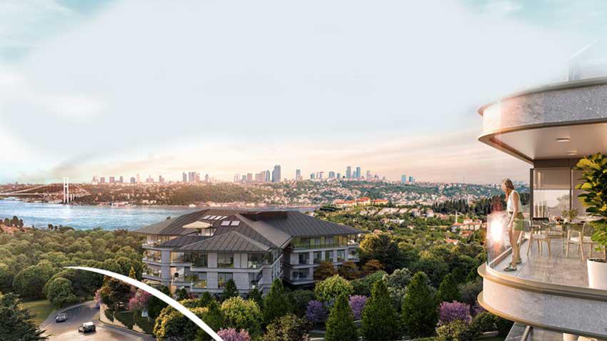Mesa Çengelköy Bosphorus için ön talep dönemi! Teslimler Aralık 2022'de