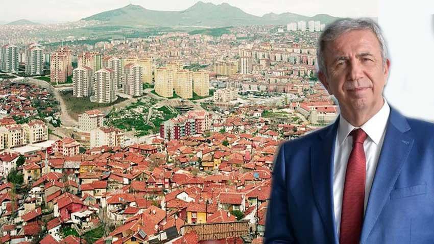 Mamak'ta kentsel dönüşümü Mansur Yavaş başlatıyor! 4 bin 477 konut geliyor