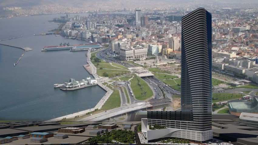 İzmir'de yeni gökdelen! Konak'ta 60 katlı Vakıf Towers inşaatı başlıyor