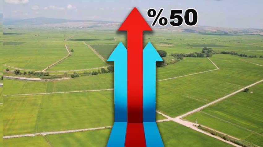 Arsa yatırımcısı mutlu! Yılın en kârlı yatırımlarından oldu