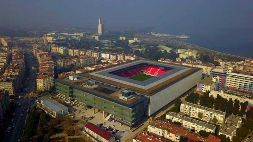 Yeni Göztepe stadı açıldı! Gürsel Aksel Stadı'nda son teknoloji kaça mal oldu?
