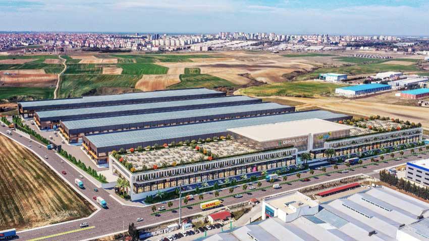 Demir Grup'tan Çorlu'da 800 milyonluk sanayi sitesi