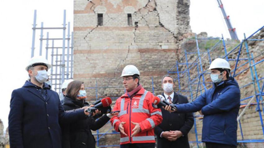 İstanbul surlarına İBB sahip çıkıyor! 2 yılda 22 burç restorasyonu yapılacak