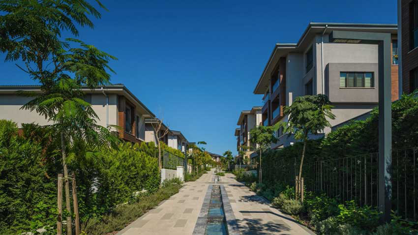 Asmalı Bahçe Şehir 5. Etap teslimleri tamam... 600 milyon TL yatırımlı proje