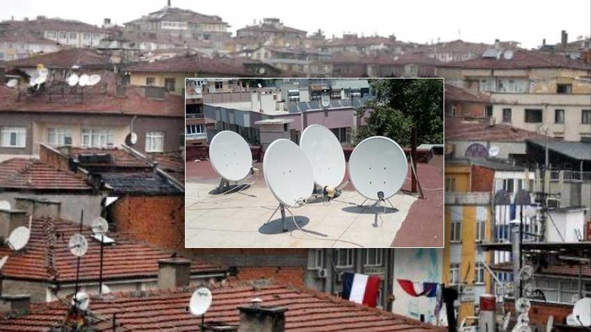 Çanak antenler binalarda deprem etkisini arttırıyor!