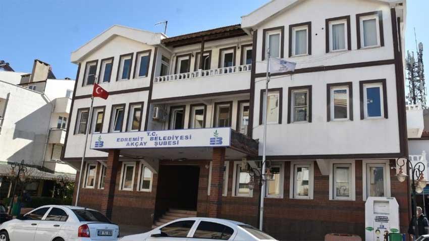 Edremit Belediyesi Akçay hizmet binasına kavuştu! Kiralık bina kamulaştırıldı
