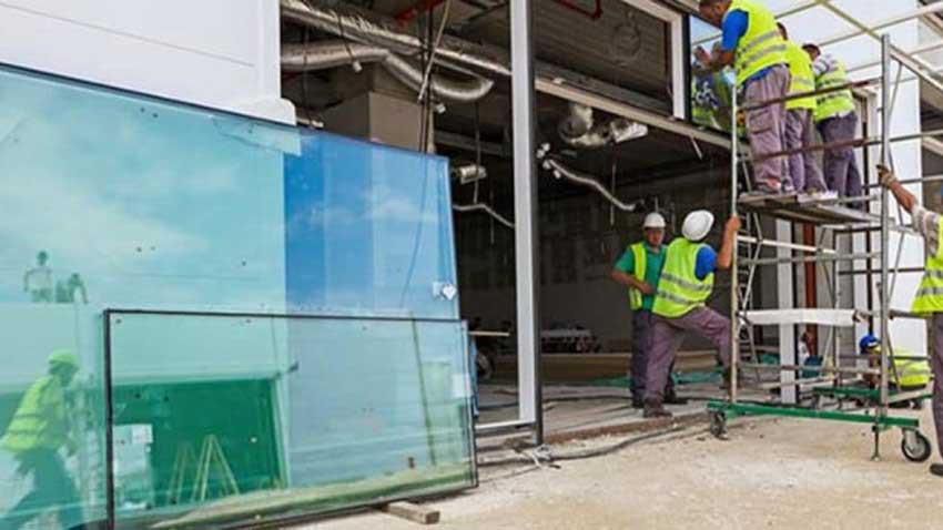 İnşaat sektöründe cam krizi başladı! Cam karaborsada