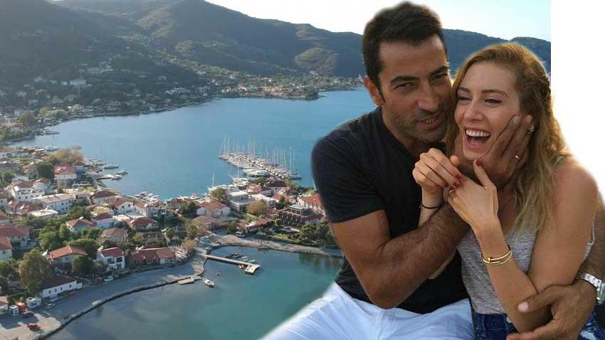Kenan İmirzalıoğlu ve Sinem Kobal çifti ile popülerleşen Selimiye'de kiralar patladı!