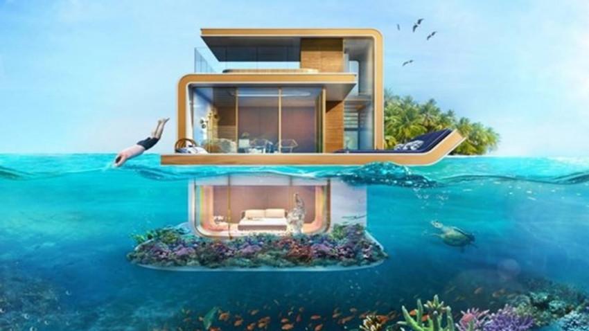 Dünyanın ilk yüzen evleri rağbet gördü!