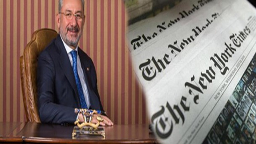 Fuat Tosyalı New York Times'a konuştu!