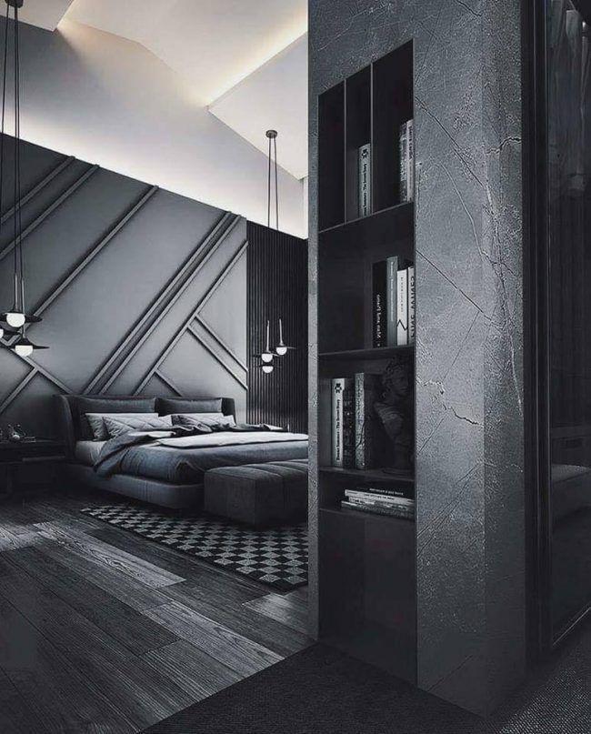 Siyah dizaynıyla dekorasyonda nirvanaya varan ev! - Sayfa 2