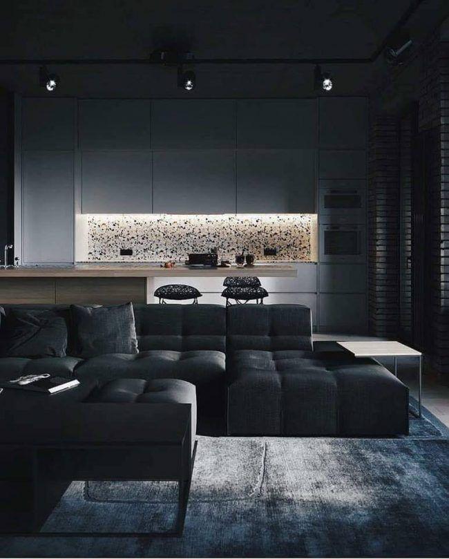 Siyah dizaynıyla dekorasyonda nirvanaya varan ev! - Sayfa 3